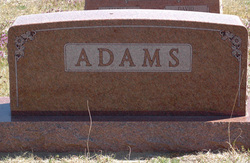 Alma Bernice <I>Paden</I> Adams