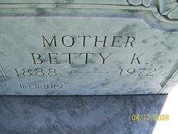 "Bertha Katherine ""Betty"" <I>Miller</I> Carlile"