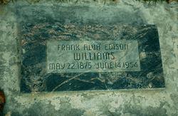 Frank Alva Edison Williams