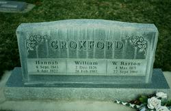 Hannah <I>Loveday</I> Croxford