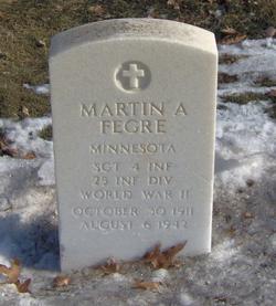 Sgt Martin A Fegre