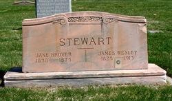 Jane <I>Grover</I> Stewart