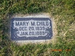 Mary Malinda <I>Curtis</I> Child