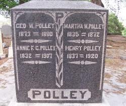 Annie F C Polley