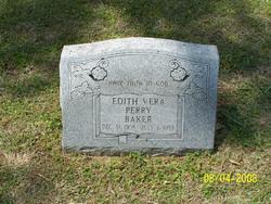 Edith Vera <I>Perry</I> Baker