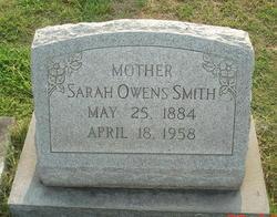 Sarah <I>Owens</I> Smith