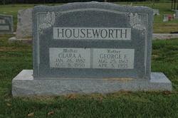 Clara Augusta <I>Marcum</I> Houseworth