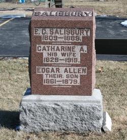 """Catharine A. """"Kate"""" <I>Kinsell</I> Salisbury"""