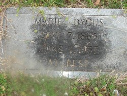 Madie <I>Cummings</I> Dycus