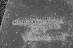 Mrs M J <I>Ross</I> Hamilton