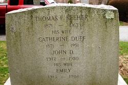 Catherine <I>Duff</I> Keeher