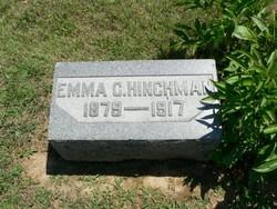 Emma Cynthia <I>Stearns</I> Hinchman