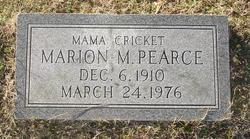 Marion <I>Mason</I> Pearce