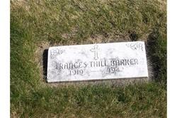 Frances <I>Thill</I> Barker