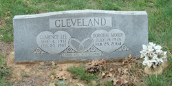 Dorothy <I>Moody</I> Cleveland