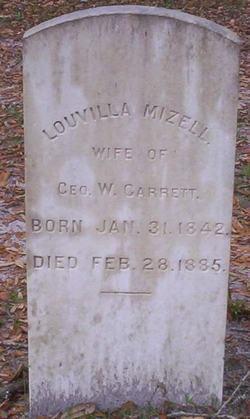 Louvilla <I>Mizell</I> Garrett