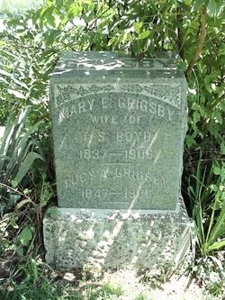 Mary E <I>Grigsby</I> Boyd