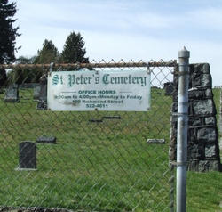 Saint Peter's Roman Catholic Cemetery