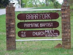 Briar Fork Primitive Baptist Church Cemetery