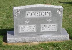 Edna Virginia <I>Moler</I> Gordon