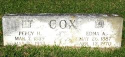 Edna Aline <I>Richardson</I> Cox