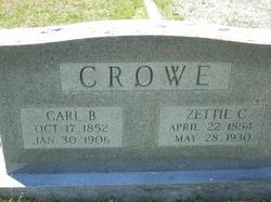 """Mozetta C. """"Zettie"""" <I>Fenn</I> Crowe"""
