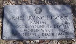"""James Irving """"Toots"""" Higgins"""