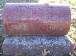 Addie E <I>Packard</I> Bell