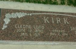 Cleone <I>Lund</I> Kirk