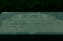 Mabel <I>Downs</I> Hummel