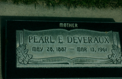 Pearl Bertha <I>Ellis</I> Deveraux