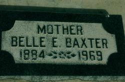 Belle Maude <I>Ellis</I> Baxter