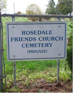 Rosedale Friends Church Cemetery