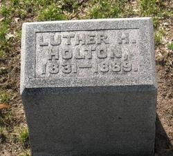 Luther H Holton