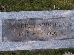 Sadie T Abbott