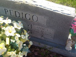 Effie Lillian <I>Reeder</I> Pedigo
