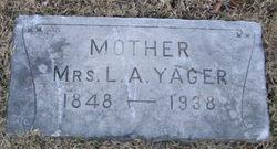 Lucy Angeline <I>Butler</I> Yager