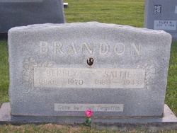 Sallie <I>Sadler</I> Brandon