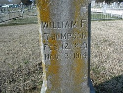 Rev William Franklin Thompson