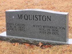 John Calvin McQuiston