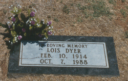 Nellie Lois <I>McDaniel</I> Dyer