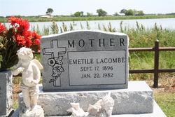 Emetile <I>Lacombe</I> Cahanin