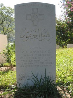 CPT Mateen Ahmed Ansari