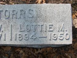 Lottie Mae <I>Thornton</I> Storrs