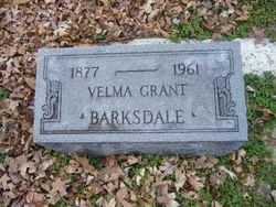 Velma Grant Barksdale