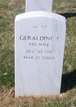 Geraldine F Welch