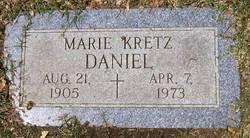 Marie <I>Kretz</I> Daniel