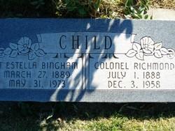 Annie Estella <I>Bingham</I> Child