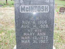 Mary Ann <I>Coday</I> McIntosh