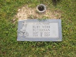 Ruby Pearl <I>Webb</I> Buchanan